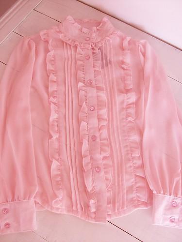 lovely chiffon blouse