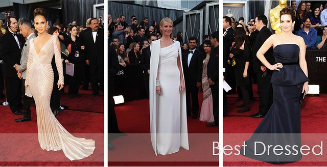 Oscars 2012 - best dressed
