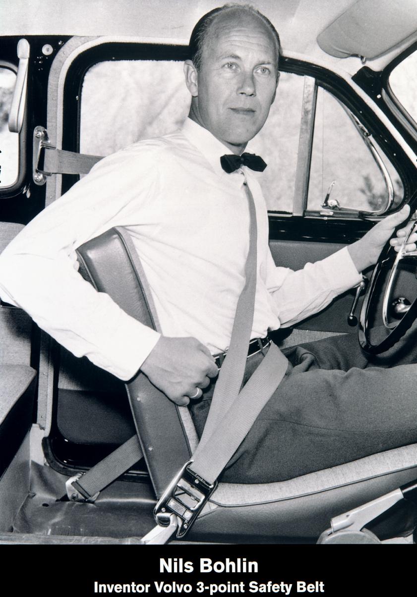 Nils Bohlin 1959, ®≠¶•≠•а Volvo, бЃІ§†в•Ђм 3-вЃз•з≠ле а•ђ≠•© °•ІЃѓ†б≠Ѓбв®