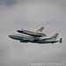 Discovery Shuttle on top of a 747 around Washington, DC