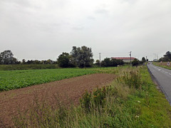 View E towards the railway crossing