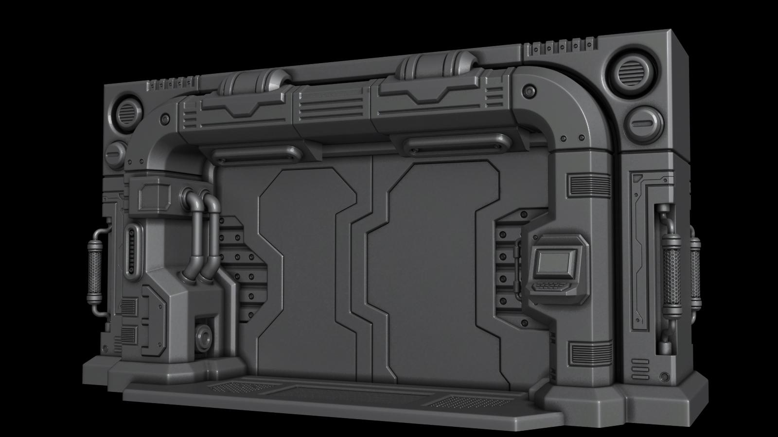 how to build a blast door