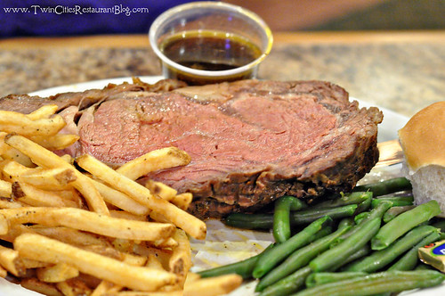 20oz Prime Rib at Fishtale Grill ~ New Prague, MN