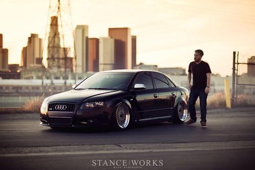 www.StanceWorks.com: Ryan Worthington's A4 on BBS E50s