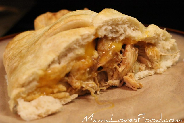 Mama Loves Food!: Barbecue Cheddar Chicken Braid.