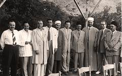 مع بعض الشخصيات  السورية - سوريا - 1960