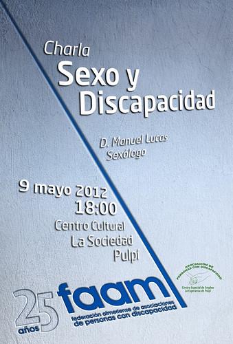Cartel Sexo y Discapacidad FAAM Pulpí 2012