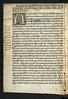 Woodcut initial in Poggius Florentinus: Facetiae