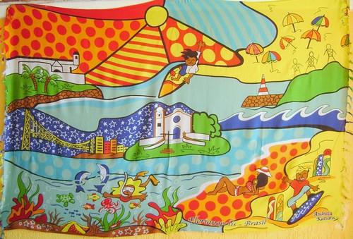Canga de Praia Florianópolis - Andreza Katsani - Besakih by Andreza Katsani