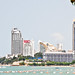 Pattaya Skyline along the sea
