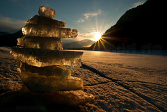 Sylvenstein Sunset with Iceman  -  expl..1