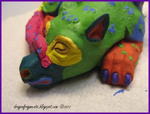 week 15 plaster dragon
