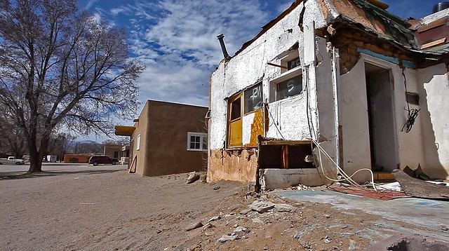 Renovated And Unrenovated Pueblo Homes Flickr Photo