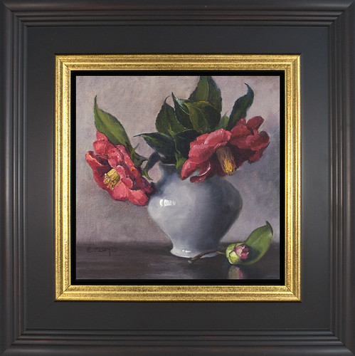 Camellias - framed