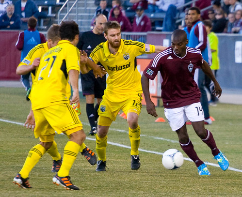 Rapids vs. Crew 2012 Omar Cummings by CE's Photography