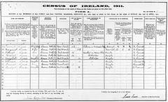 patrick lane 1911 census