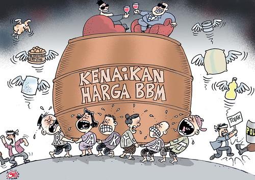 Karikatur 160312 - Kenaikan BBM by the1sttimes