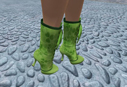 *GF* GroupGift Gina Boots -clover-(MESH) by Cherokeeh Asteria