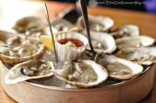 Blue Point Oysters at Stella's Fish Cafe ~ Minneapolis, MN