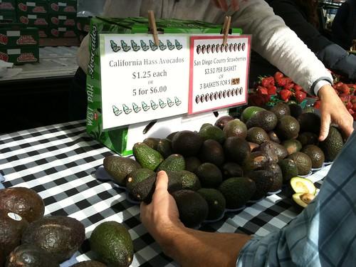 avocado stand