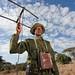 Ranger tracking lions Lewa Kenya