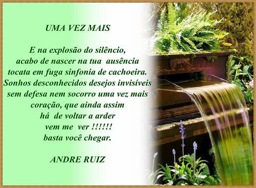 UMA VEZ MAIS by amigos do poeta