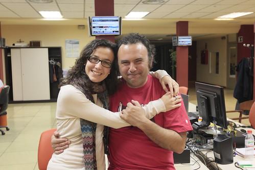Lara Ochoa y Javier F. Barrera