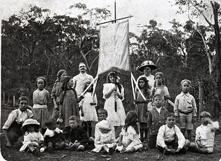 First Anniversary Picnic, Lawson Methodist Sunday School, Jan. 26th 1914
