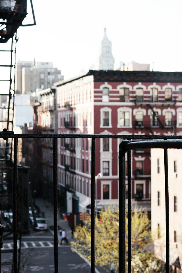 fire escape view