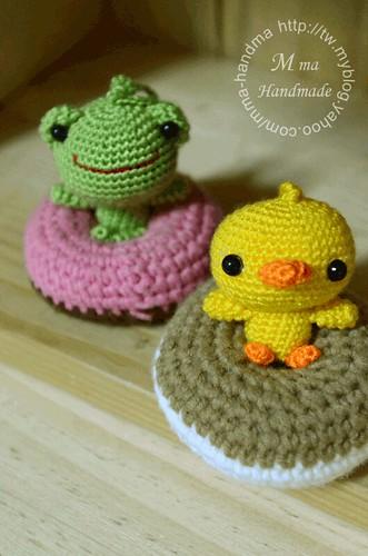 cherry的小青蛙,Tina的小鴨子