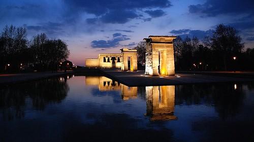 Templo de Debod, Madrid.
