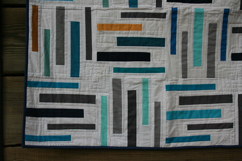 7043458277 1c9d5924d7 Old School Library Quilt: Finished!!!