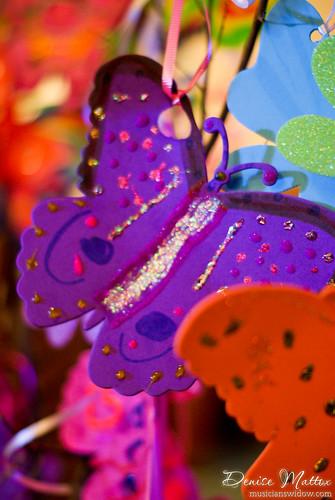 150: Paper butterflies