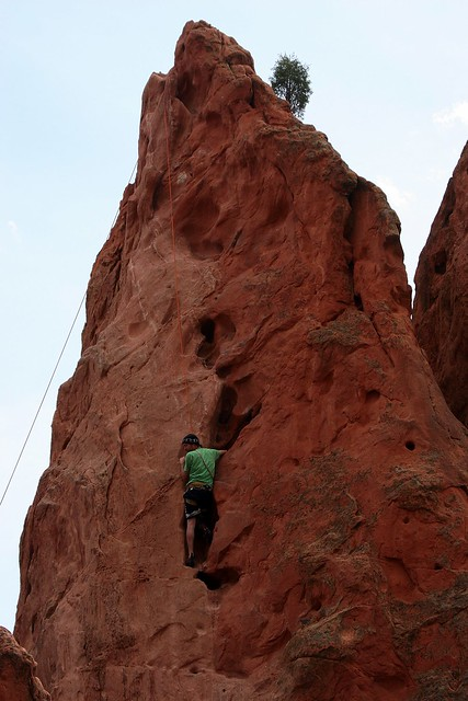 Climbing In The Garden Of The Gods Flickr Photo Sharing