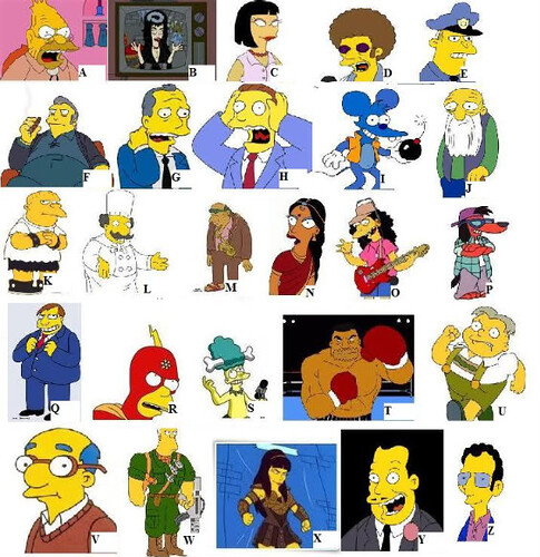 Simpsons A-Z