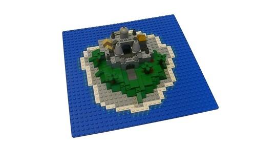 LEGO Island Castle Micro-scale (3)