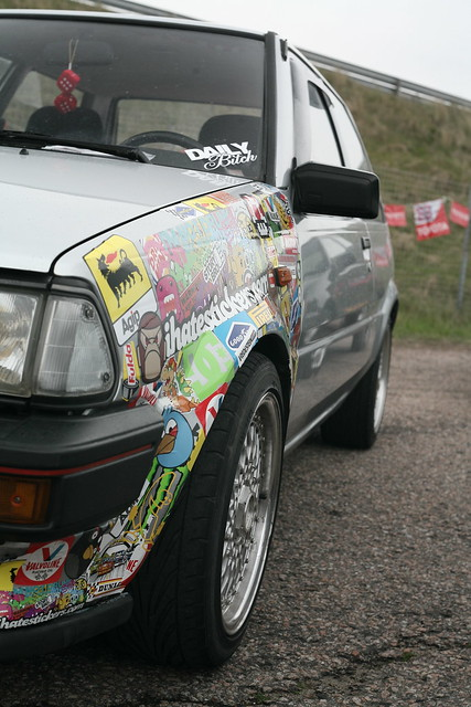 Stickerbombed Starlet EP70