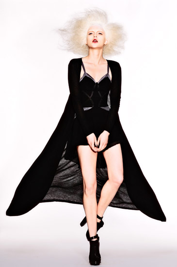 Sydney Fashion Photography, 13_ White Background in the studio, Uscari Black Cape Movement