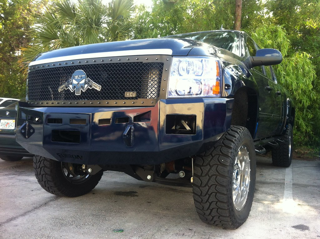 Gmc Duramax Custom Bumper : Fusion bumpers installed on my chevy and gmc duramax