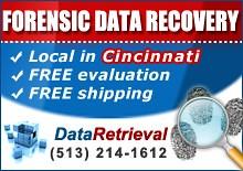 Forensic Data Recovery Cincinnati