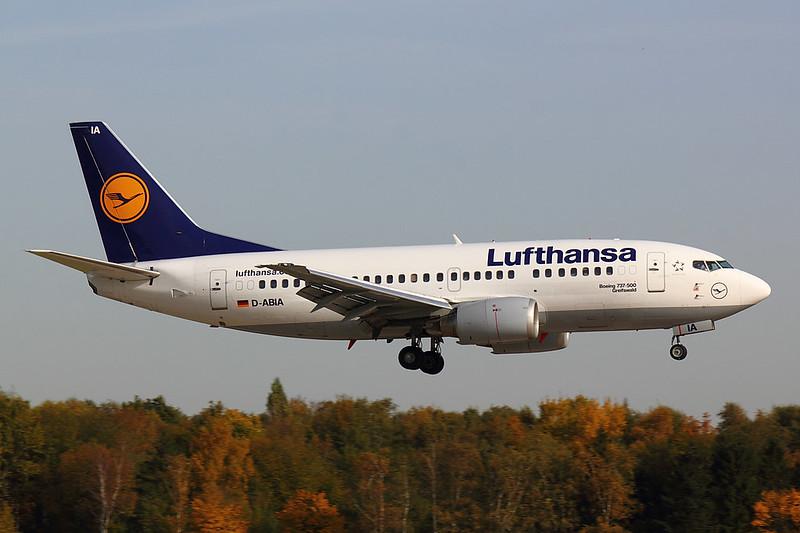 Lufthansa - B735 - D-ABIA