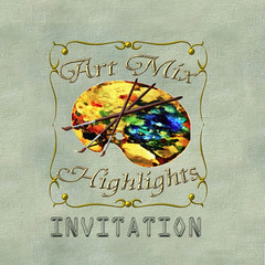 Art Mix Highlights invite