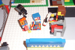 Miniland AFOL building microscale MOCs for BrickCon.