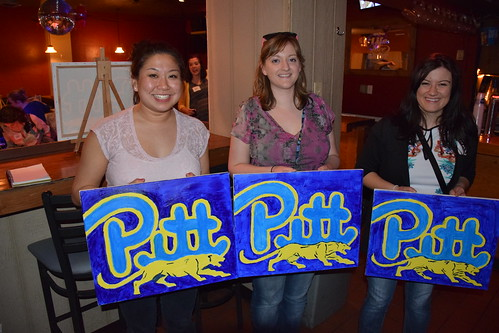 Senior Sendoff Paint Night Gallery