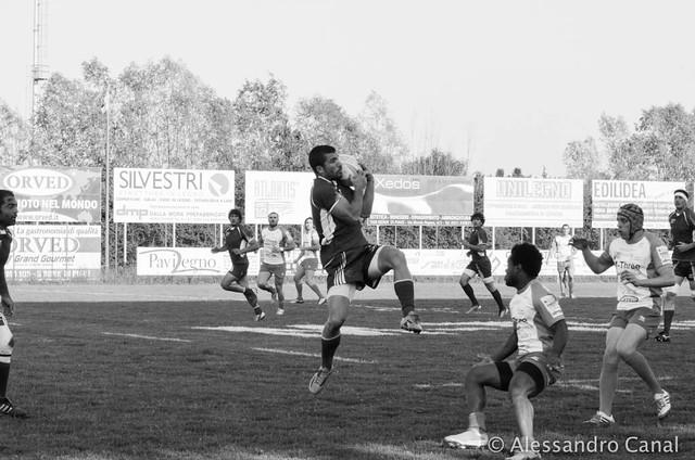 Presa al volo Benetti  - Fiamme Oro rugby