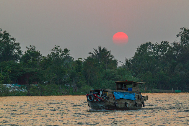 Mekong Delta Sunset