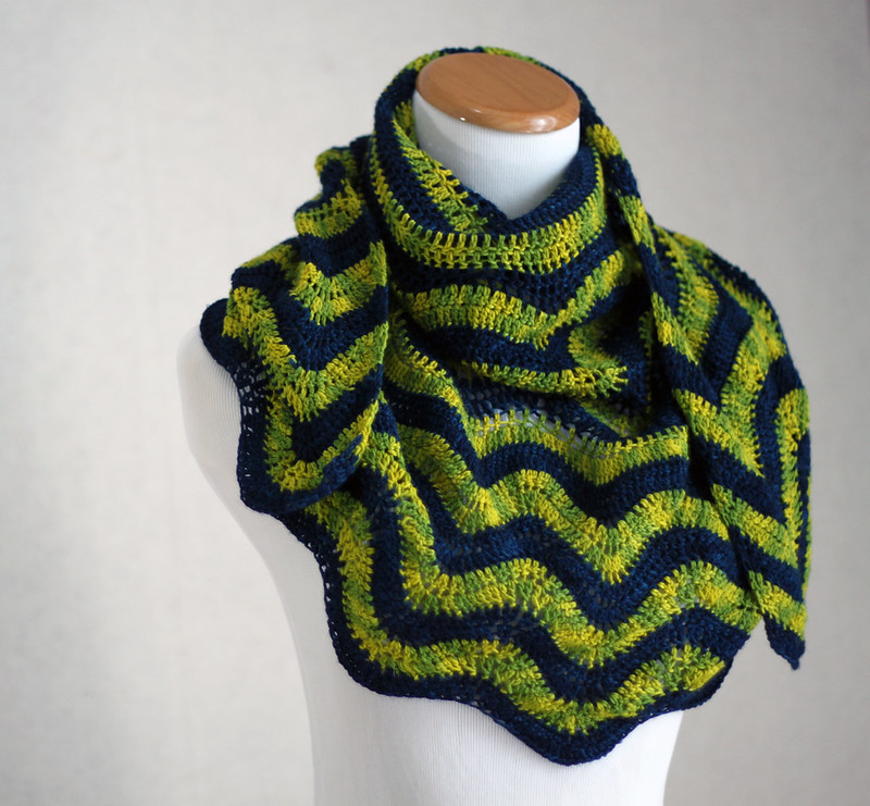 Key Lime Pi Shawl