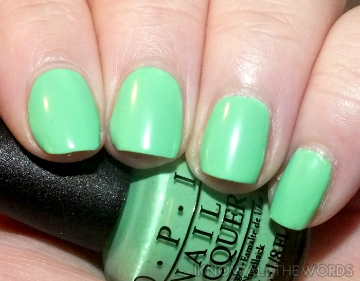 OPI Neons- You Are So Outta Lime (2)