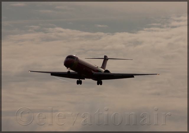 OY-RUE McDonnell Douglas MD-83 Danish Air Transport