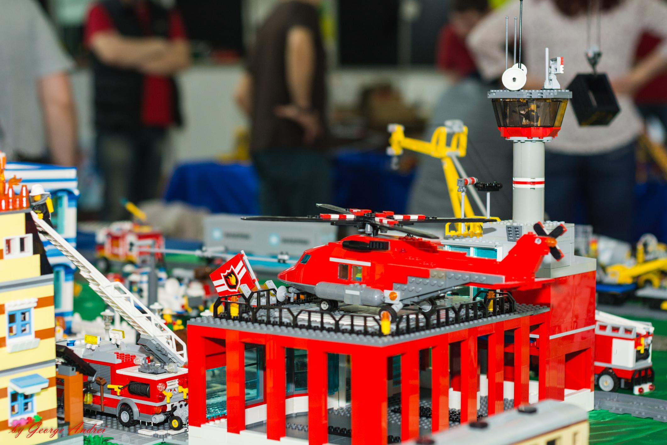 LEGO® MOC by Lapsanszkitamas: Fire Station